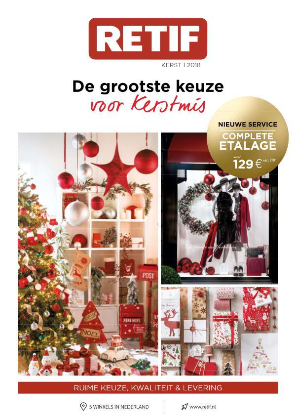 RETIF Nederland De grootste keuze voor Kerstmis