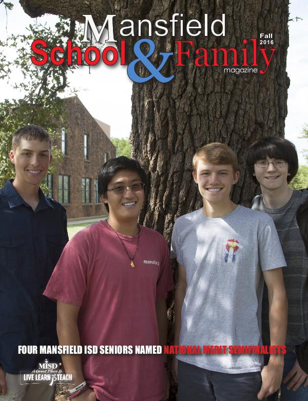 Mansfield ISD Magazine Fall 2016