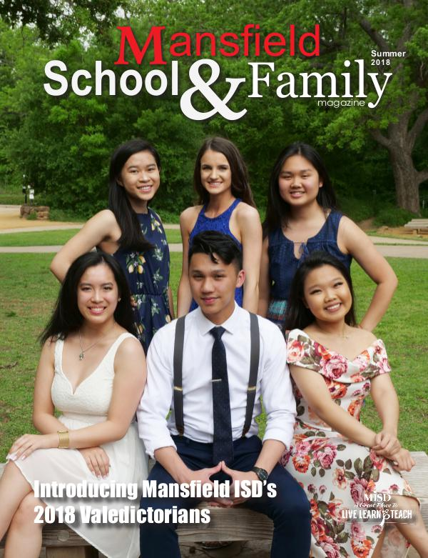 Mansfield ISD Magazine Summer 2018