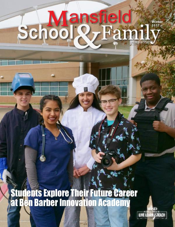Mansfield ISD Magazine Winter 2017