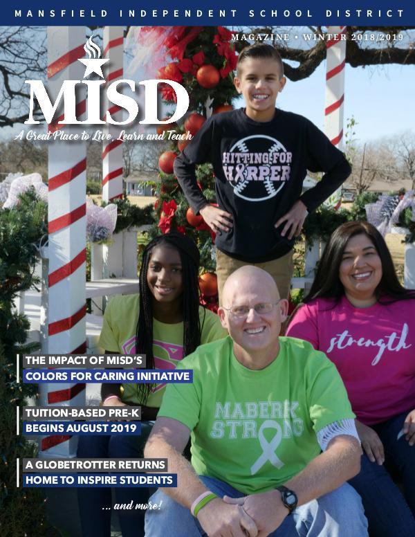 Mansfield ISD Magazine Winter 2018/2019