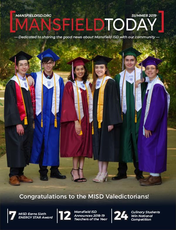 Mansfield ISD Magazine Summer 2019