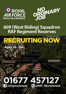 RAF Reserves 609 Squadron