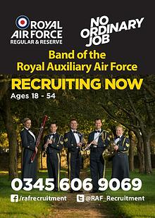 Band of the Royal Auxiliary Air Force, RAF Reserves