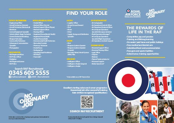 What You Need To Know RAF Careers-No Ordinary Job