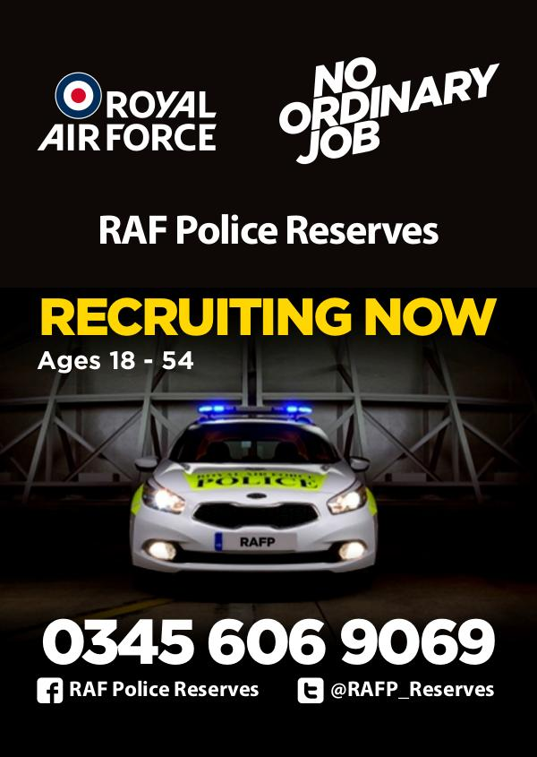 Reserves Opportunities RAF Police Reserves
