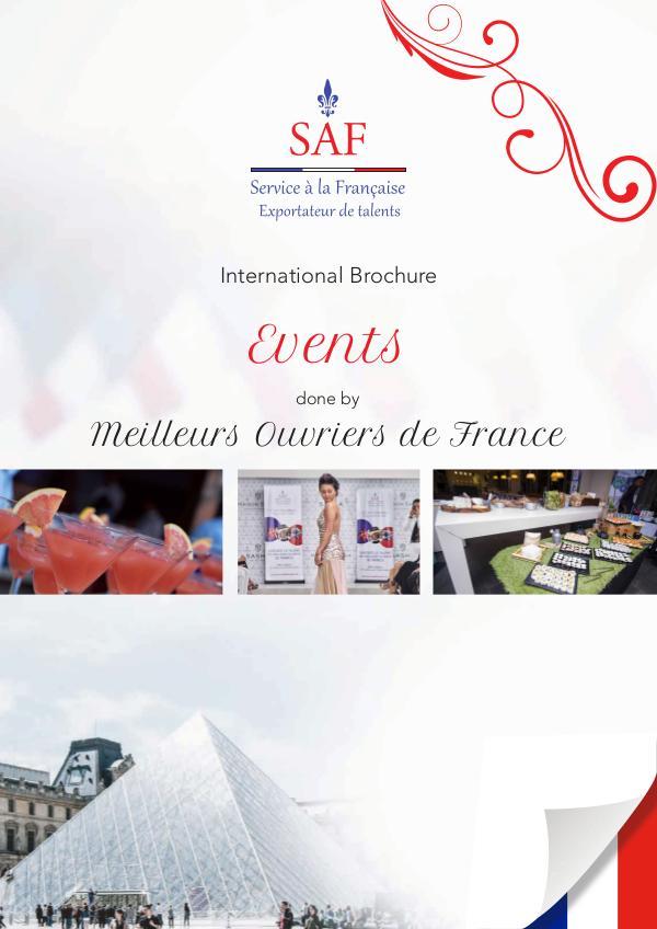 Events done by Meilleurs Ouvriers de France