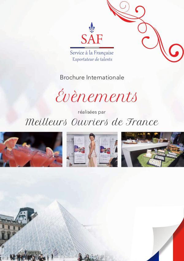 Brochure SAF Events FR