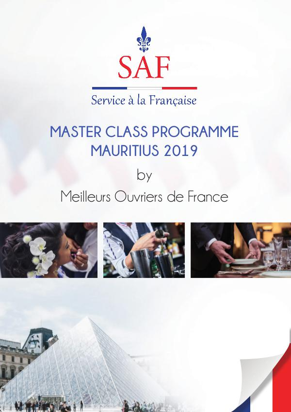 Programmation SERVICE A LA FRANCAISE 2019