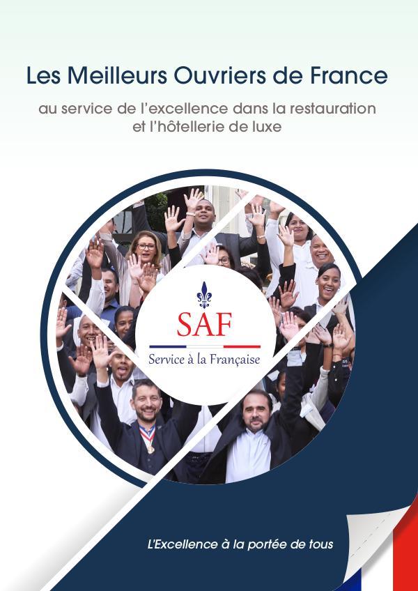 Service à la Française International Brochure Plaquette commerciale