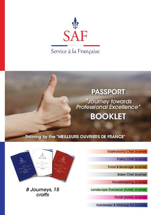 Service à la Française International Brochure Livret_Parcours vers l'excellence