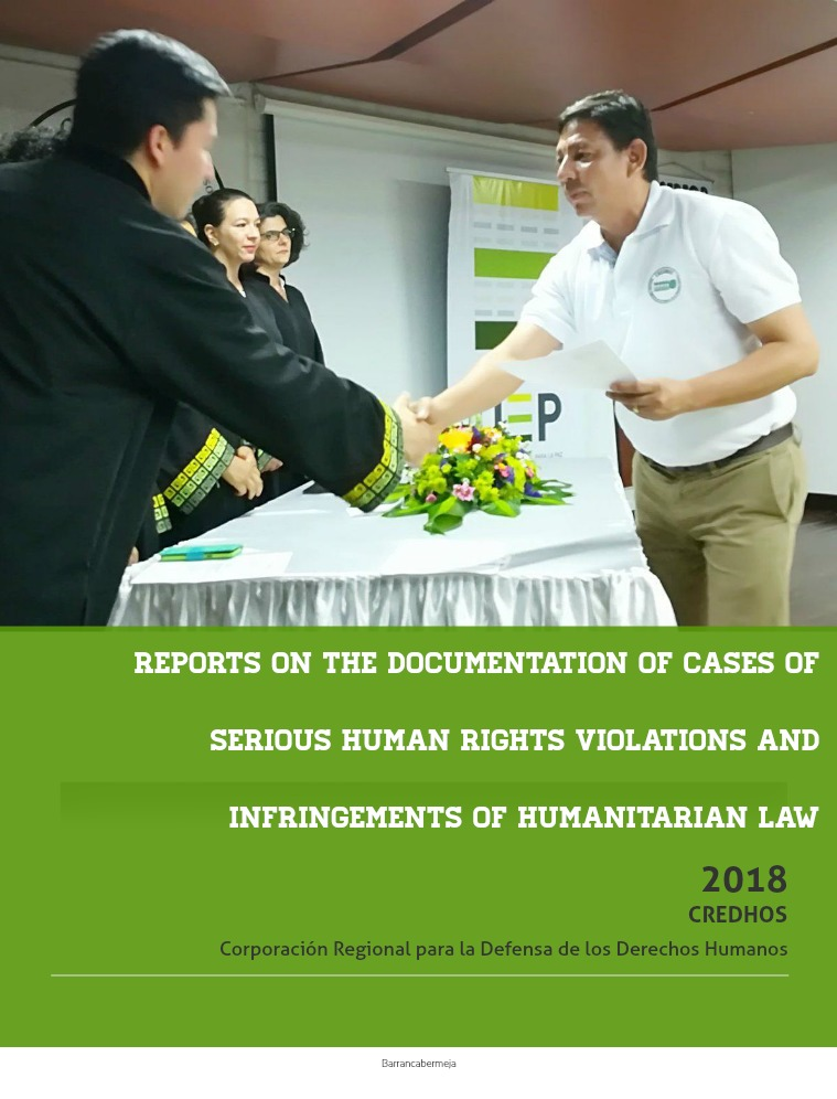 REPORTS ON THE DOCUMENTATION OF CASES OF SERIOUS HUMAN RIGHTS VIOLATI REPORTS ON THE DOCUMENTATION OF CASES OF SERIOUS H
