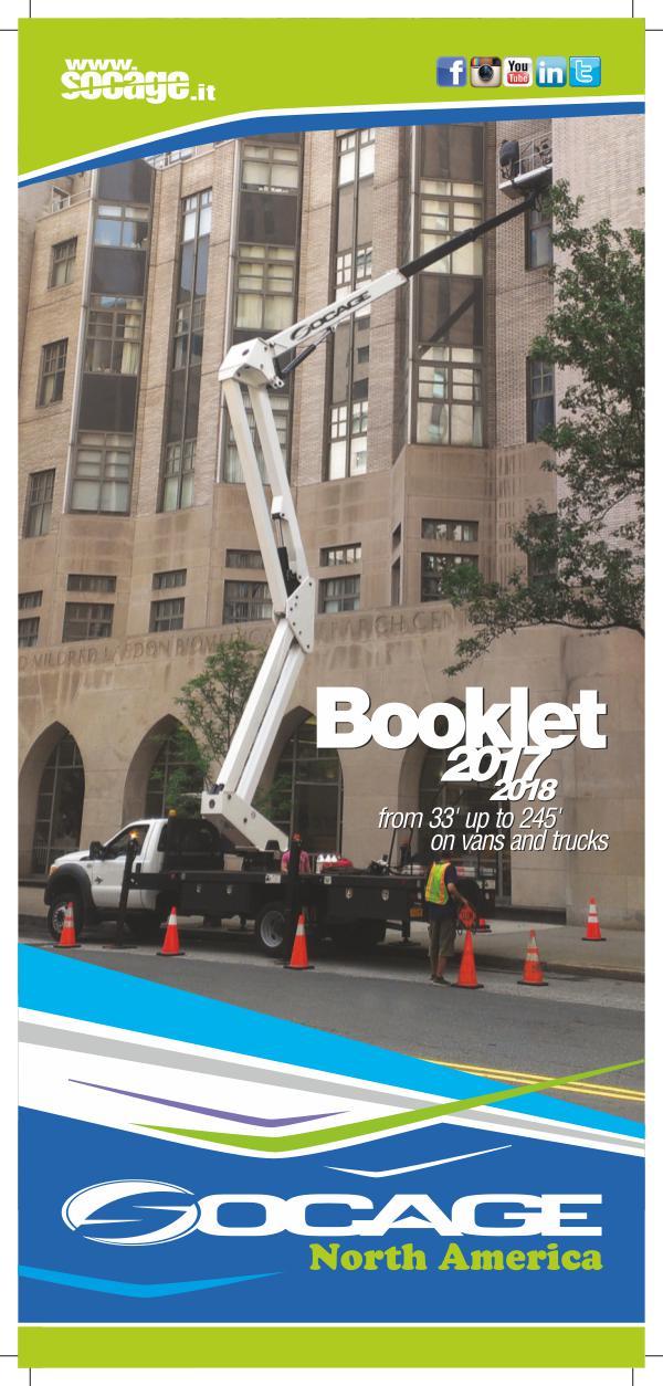 BOOKLET USA 2017-2018 SOCAGE - CATALOGO USA 2017 2018