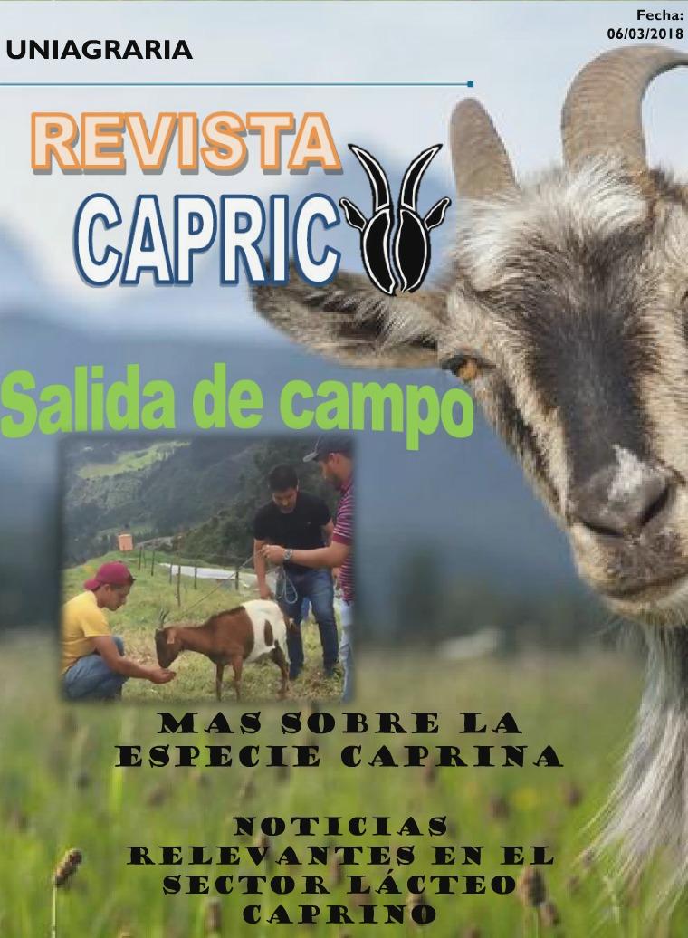 Mi primera revista Revista Caprico