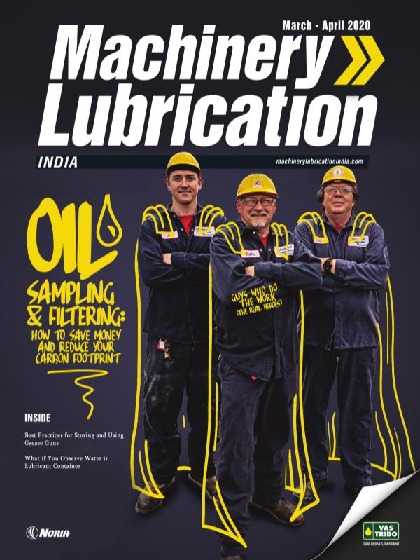 MACHINERY LUBRICATION- INDIA MARCH-APRIL 2020