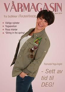 Vårinspirasjon fra butikker på Åndalsnes!