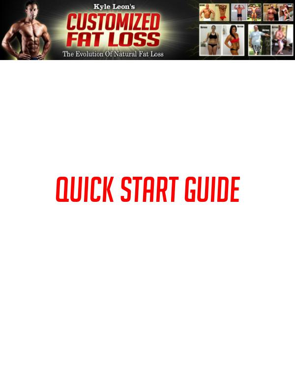 Get Customized Fat Loss Review PDF eBook Book Free