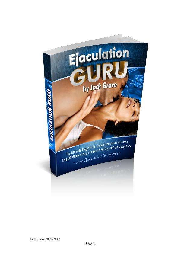 Get Ejaculation Guru Review PDF eBook Book Free