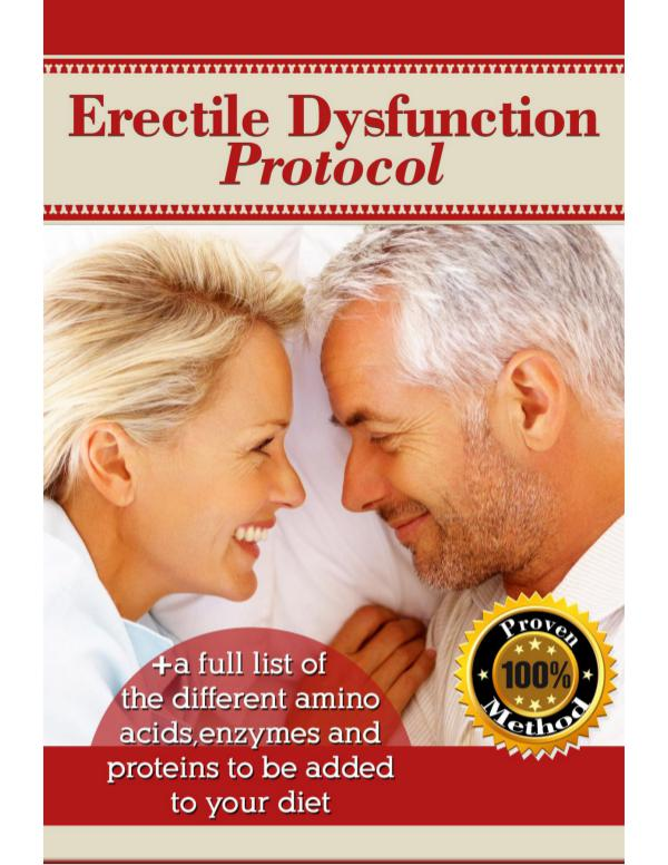 Get Erectile Dysfunction Protocol Review PDF eBook