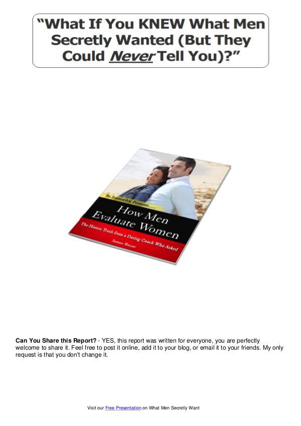 Get What Men Secretly Want Review PDF eBook Book Free