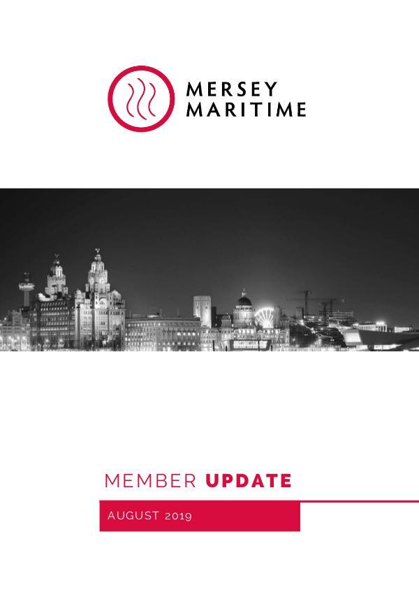 Mersey Maritime August Member Update