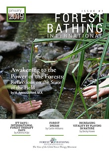 Forest Bathing International Magazine, Issue 1