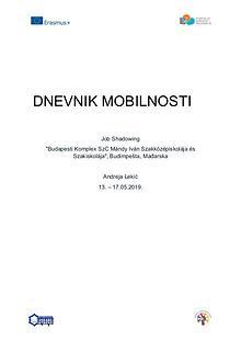 Dnevnik mobilnosti