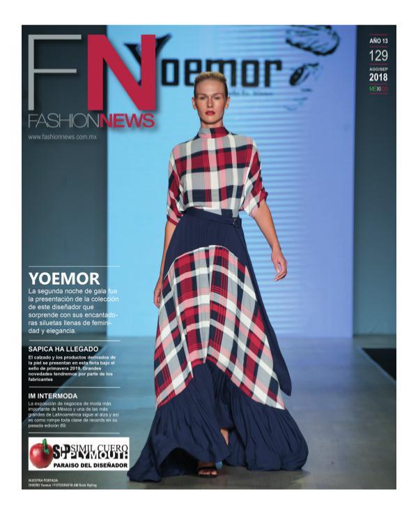 FN Fashion News 129 Septiembre FASHION NEWS_129_ AGOSTO_FINAL