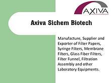 Laboratory Equipments Manufacturer of Syringe Filters, Filter Paper