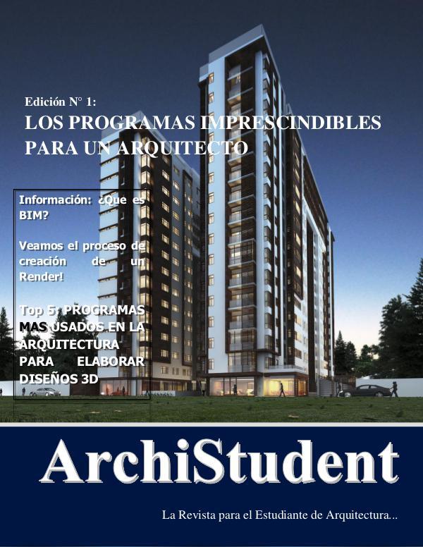 ArchiStudent - Programas Especializados en Arquitectura Revista Programas para arquitectos