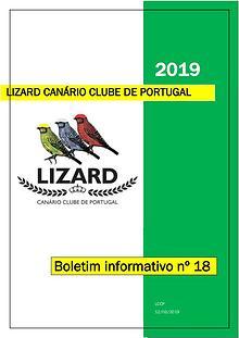 Boletim informativo do Lizard Canário Clube Português