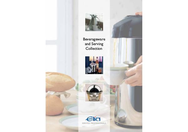 Elia International Beverageware & Serving