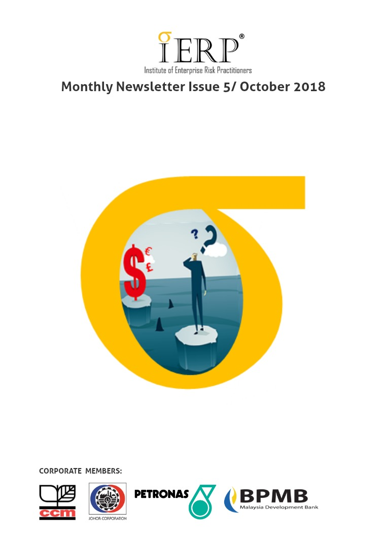IERP® Monthly Newsletter Issue 5/ October 2018