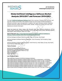2023 Global Artificial Intelligence Software Market: Regional Outlook