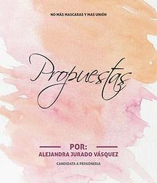 Propuestas por: Alejandra Jurado