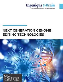 NEXT GENERATION GENOME EDITING TECHNOLOGIES