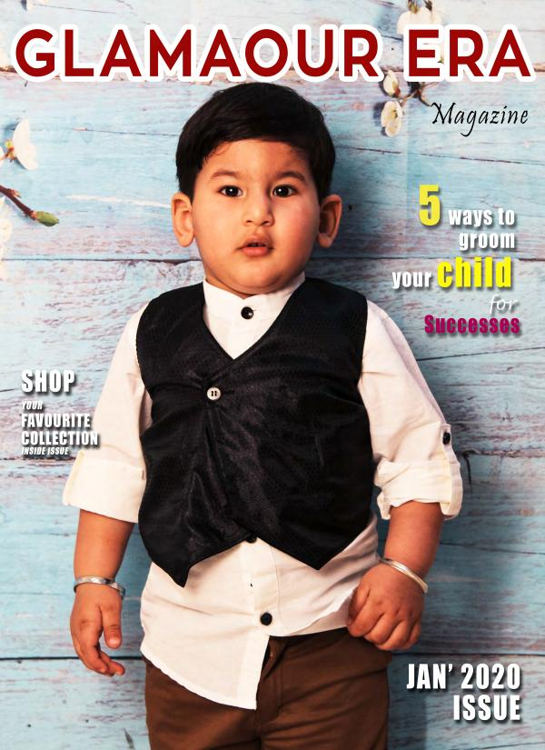 Glamaour Era Jan 2020 issue