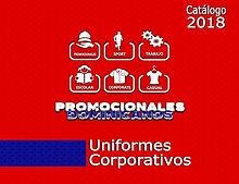 CATÁLOGO 2018 | PROMOCIONALES DOMINICANOS