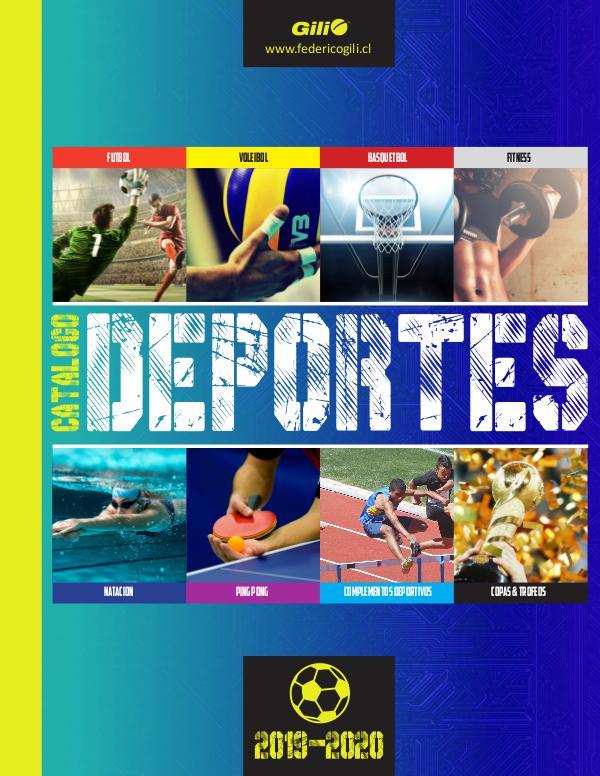 CATÁLOGO DEPORTES 2018 CATALOGO_DEPORTES_2019