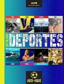 CATÁLOGO DEPORTES 2018