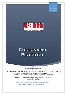 Diccionario Pictórico_Taller de Investigación