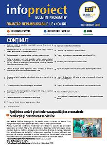 Newsletter Octombrie