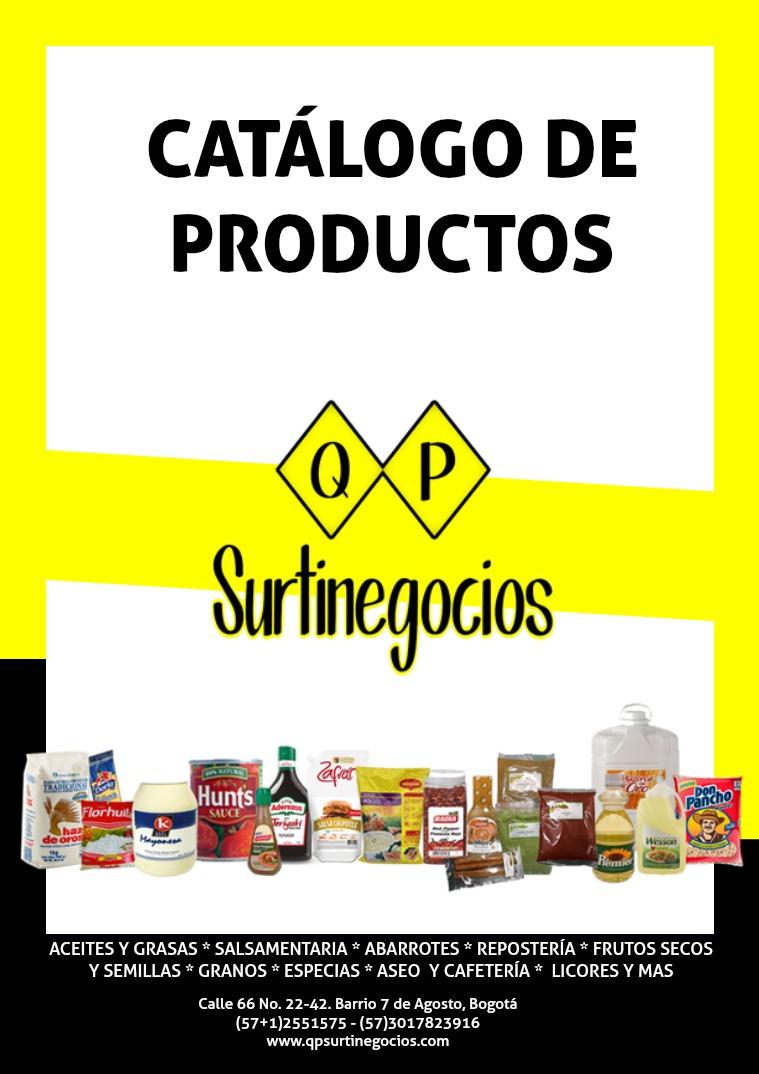 Catálogo QP Surtinegocios Productos de calidad y al mejor precio