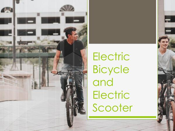 E-bike products and scooters Electric Bicycle and Electric Scooter