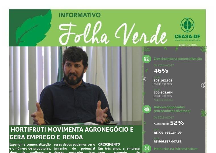 CAMPO EM FOCO Folha Verde