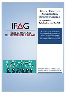 IFAG PARIS - Dossier spé DG - Groupe 3
