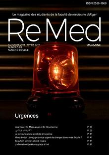 ReMed 2019 Urgences