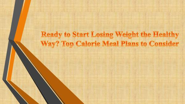 Online Food Delivery in Toronto Start Losing Weight the Healthy Way