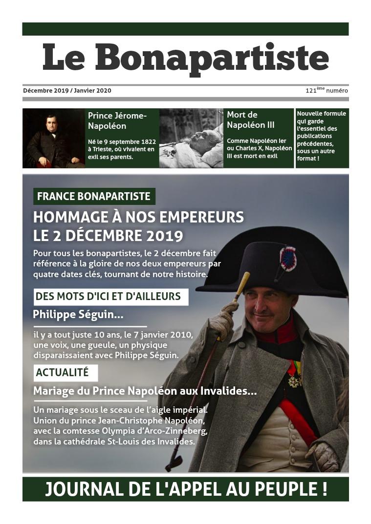 Le Bonapartiste décembre 2019 / Janvier 2020
