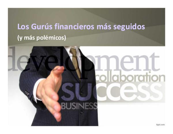 Los Gurues Financieros más Seguidos 10_Gurues Financieros más seguidos